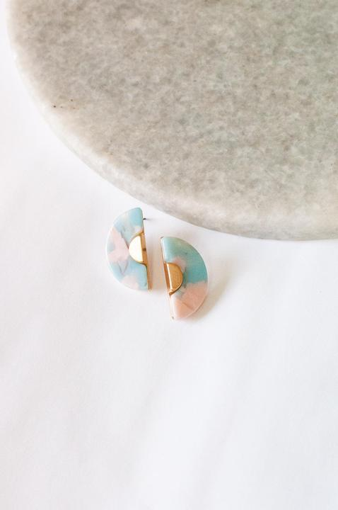 Fanny Cotton Candy Stud Earring