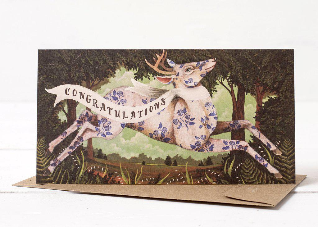 Congratulations Deer Card