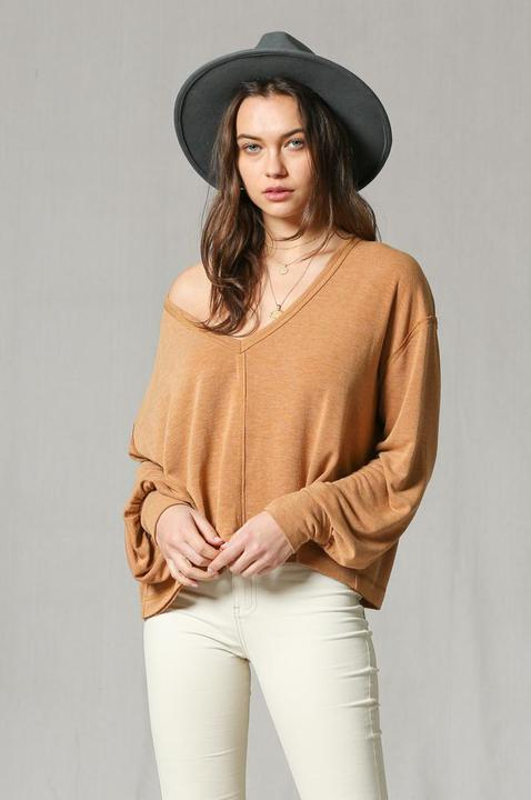 Capri Camel Sweater