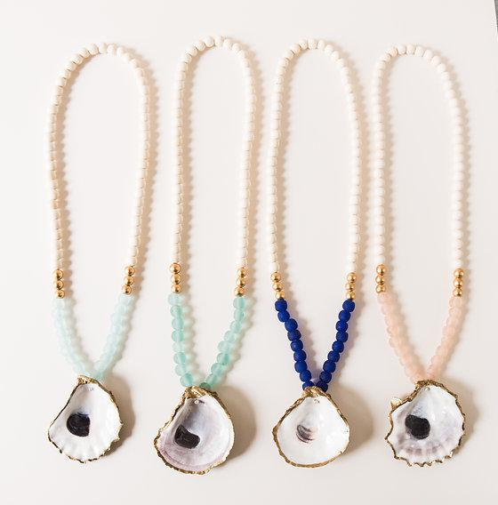 The Classic Charleston Oyster Necklace