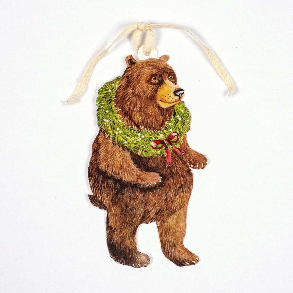 Holiday Bear Gift Tag