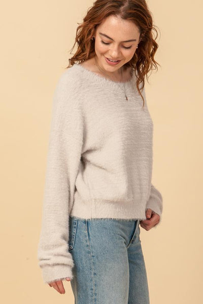 Alpaca Crew Sweater