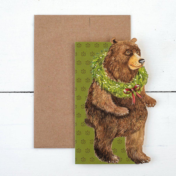 Holiday Bear Card