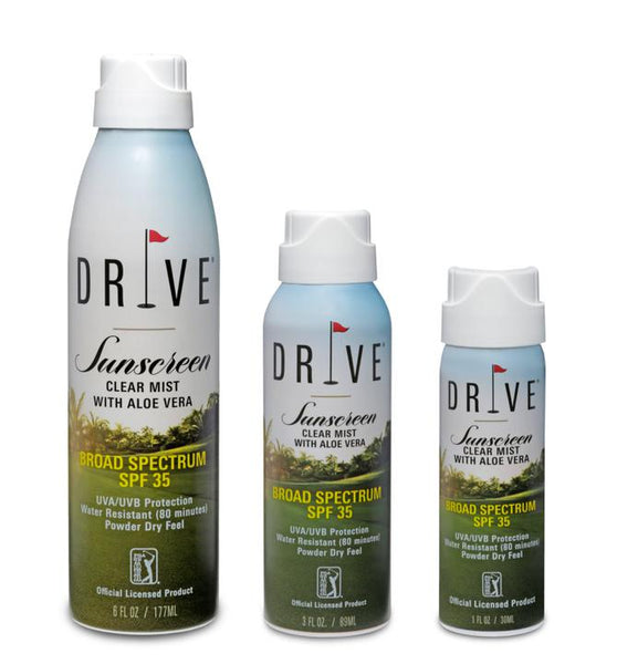 Drive Mist Sunscreen with Aloe Vera SPF 35