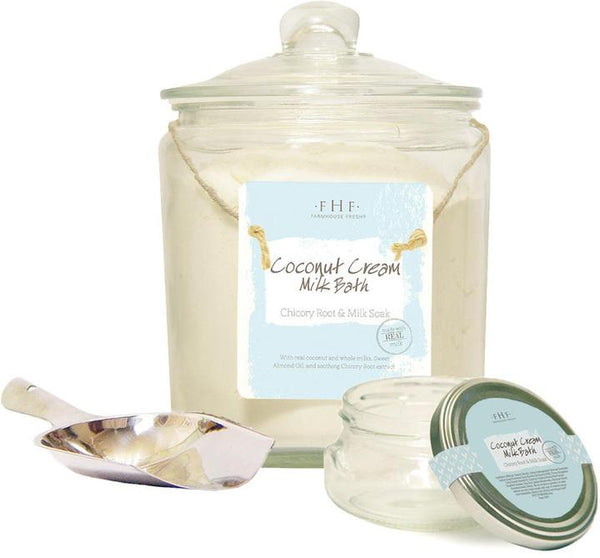 Coconut Cream Powder Milk Bath