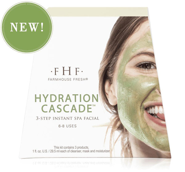 HYDRATION CASCADE™ 3-step Instant Spa Facial