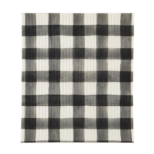 Buffalo Check Organic Dish Cloth