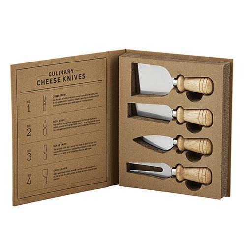 Gold Cheese Knife Book Set