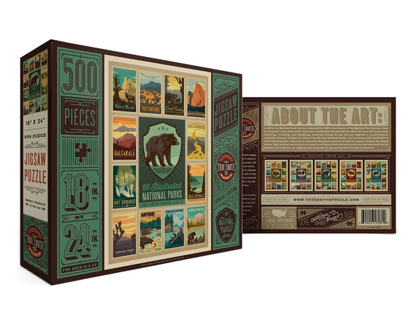 National Parks Bear Puzzle