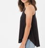 The Black Suede Swing Tank