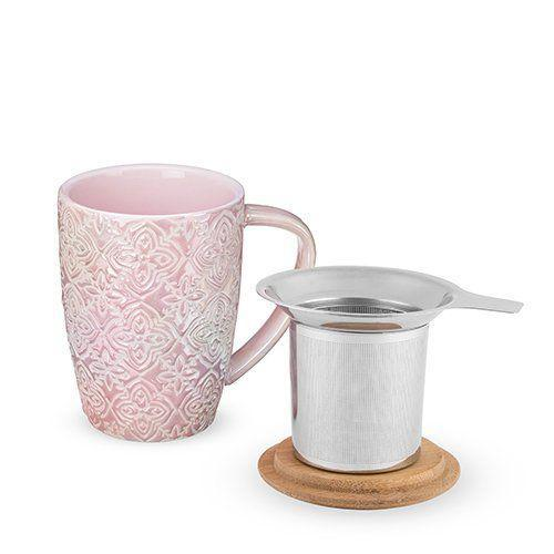 Bailey Marrakesh Ceramic Tea Mug & Infuser