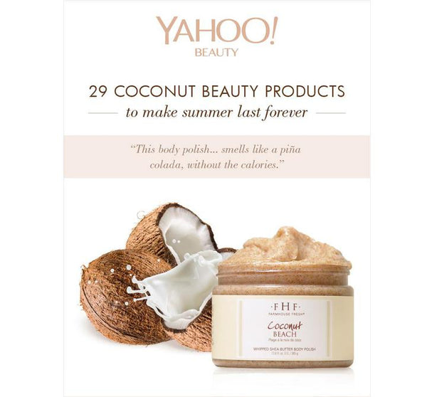 Coconut Beach Whipped Body Scrub