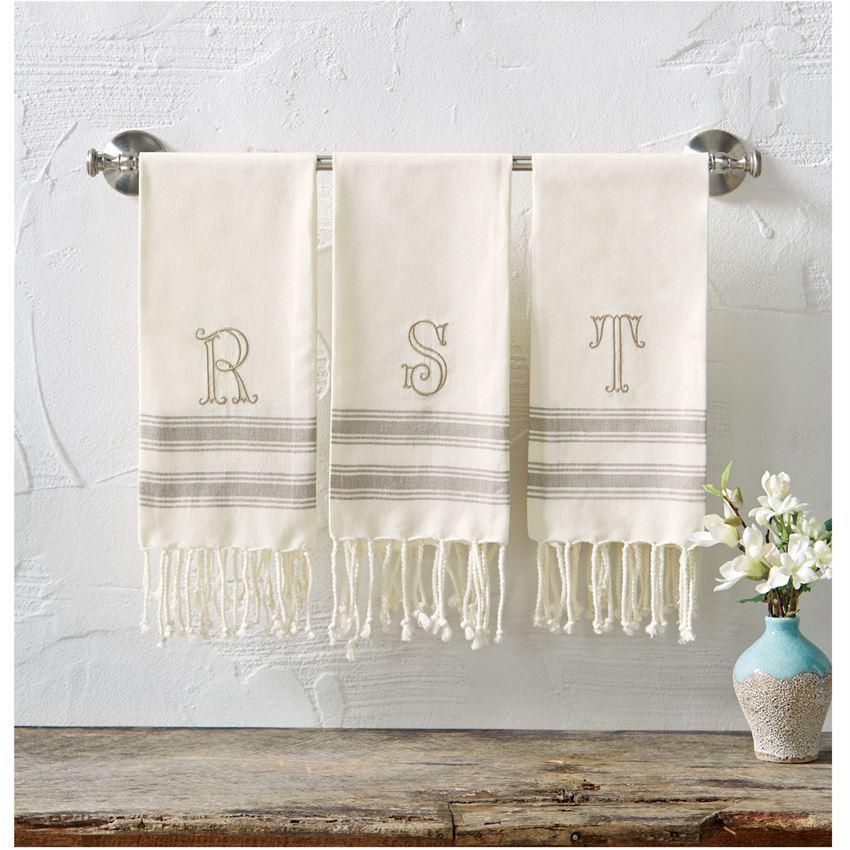Monogram Turkish Towel