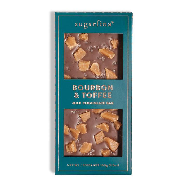 Bourbon & Toffee Milk Chocolate Bar
