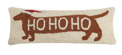 Ho Ho Ho Dachshund Pillow