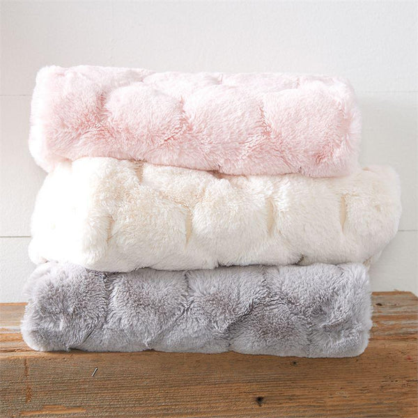 Fur Honeycomb Blanket
