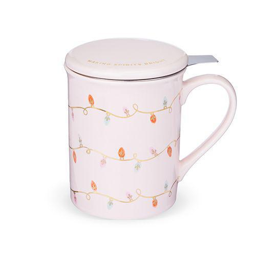 Annette Lights Tea Infuser Mug