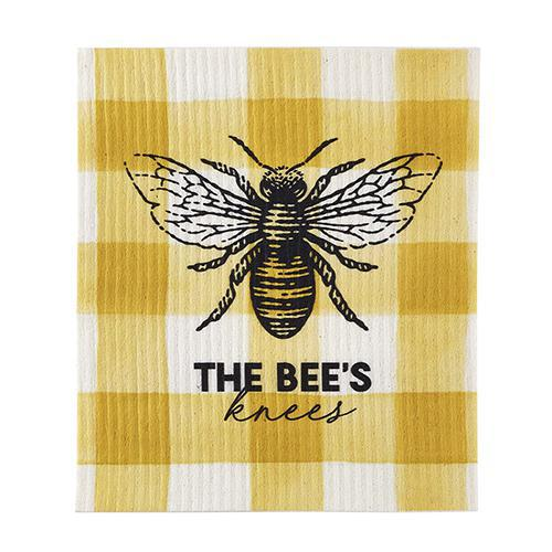 Bees Knees Organic Dish Cloth