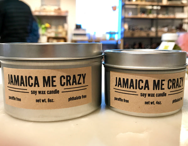 Jamaica Me Crazy Candle
