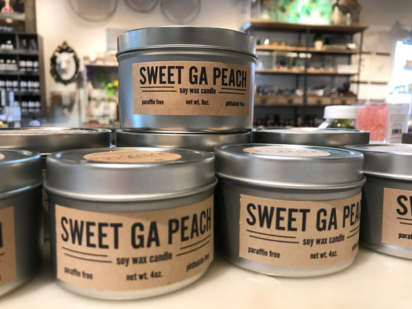 Sweet Georgia Peach Candle