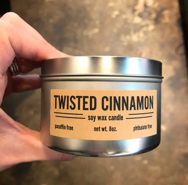 Twisted Cinnamon Candle