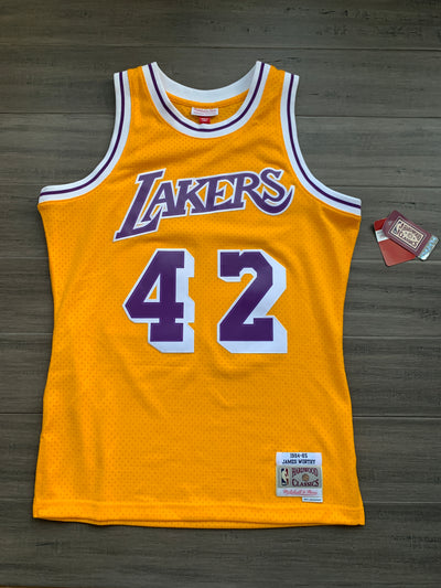 Mitchell & Ness Swingman Jersey Los Angeles Lakers (1984-85 James Worthy) Size Medium
