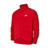 Nike Track Jacket Polyester University Red Size Medium