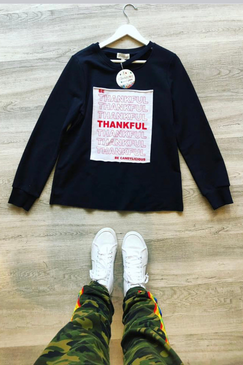 Be Thankful Sweatshirt- Adult