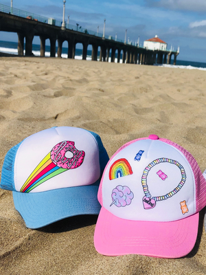 Donut stop the sweetness hat!