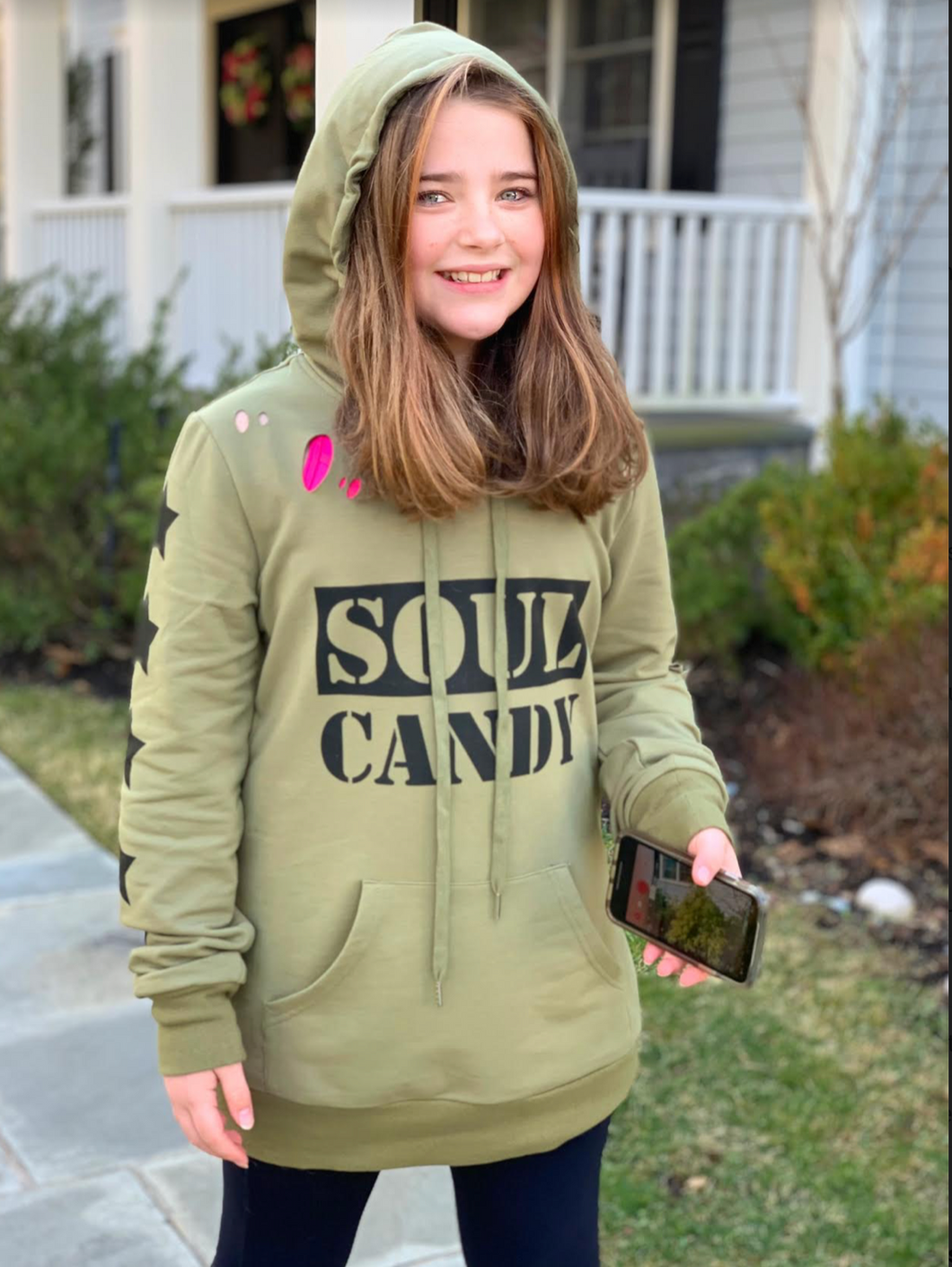 Soul Candy Hoodie- Youth