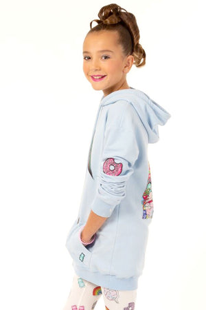 Girl Power Oversized Hoodie-Youth