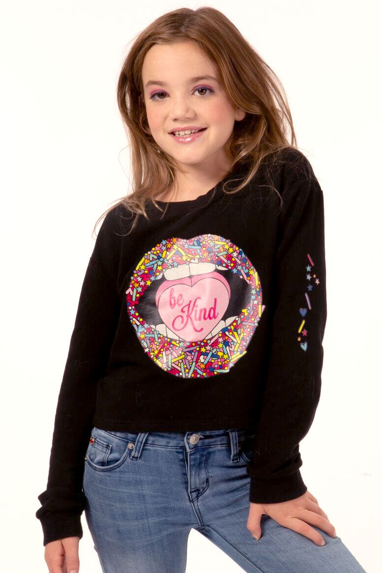 Candy Lips Sweatshirt- Youth