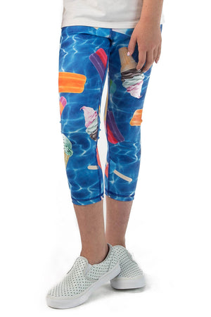 Pools and Popsicles Leggings - Youth