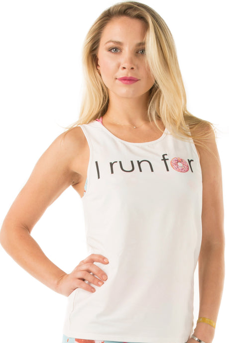 I Run For Donuts Tank