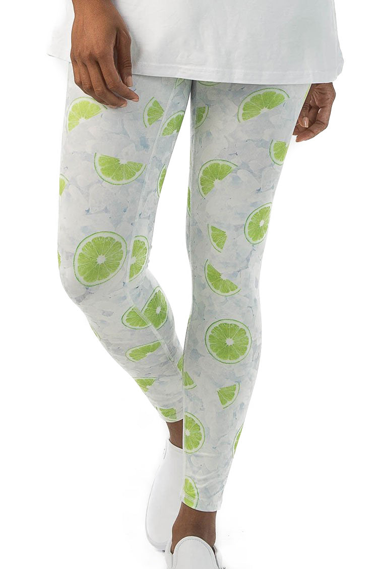 Limes and Ice Leggings