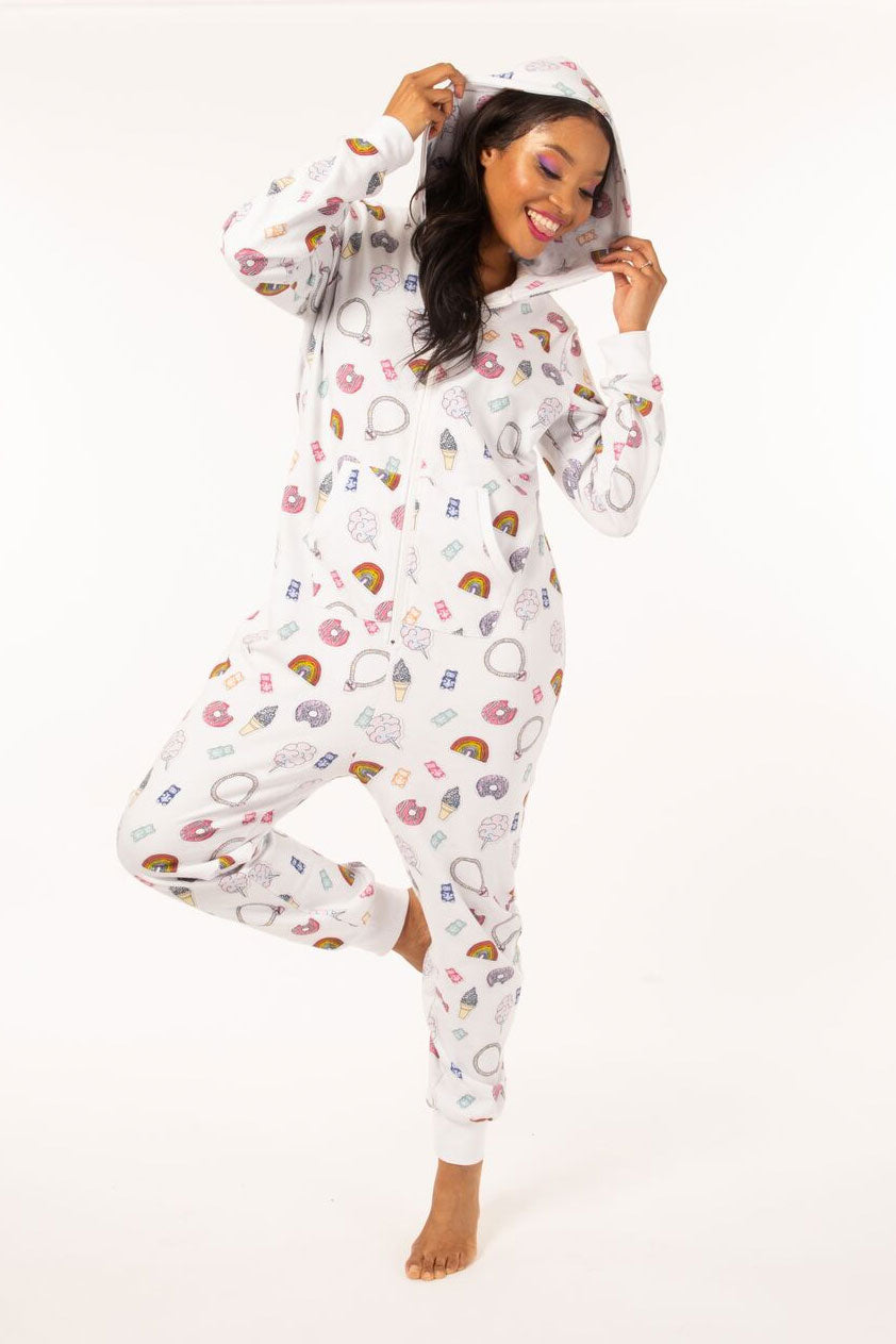 Candy Sticker Onesie - Adult