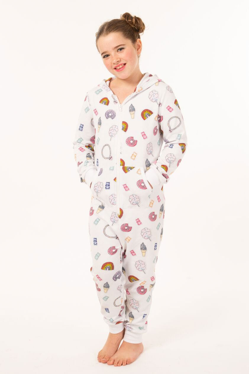 Candy Sticker Onesie - Youth