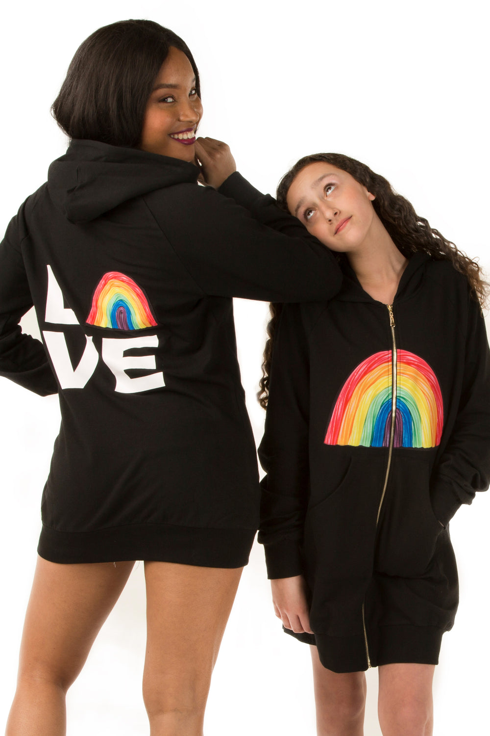 Oversized Love Sweatshirt- Youth
