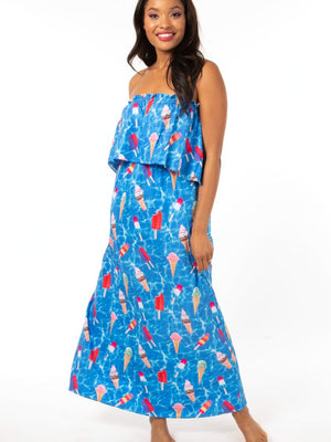 Pools and Pops Dress
