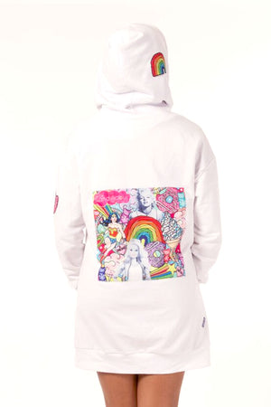 Girl Power Oversized Hoodie-Adult
