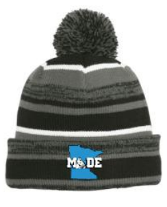 Made Beanie - Black and Grey