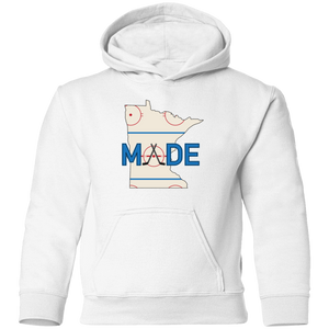 Minnesota Made - Rink Rat - Toddler Pullover Hoodie