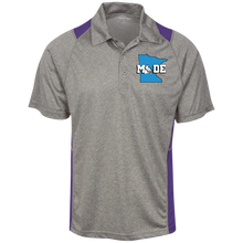Minnesota Made - The Original - Heather Moisture Wicking Polo