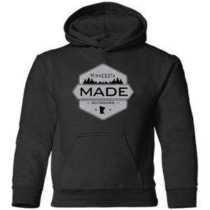 Minnesota Made - Shield - Toddler Pullover Hoodie