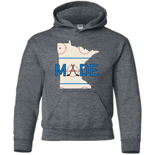 Minnesota Made - Rink Rat - Youth Pullover Hoodie