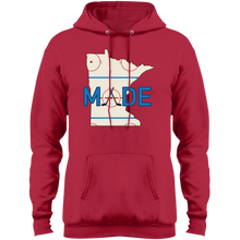 Minnesota Made - Rink Rat - Fleece Pullover Hoodie