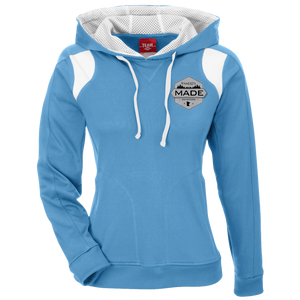 Minnesota Made - Shield - Unisex Colorblock Poly Hoodie