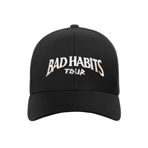 25d109a7 BAD HABITS TOUR BASEBALL CAP ...