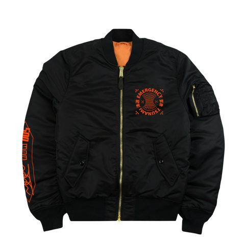 AIR RESCUE ALPHA MA-1 BOMBER JACKET