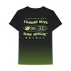TSUNAMI BOYS GRADIENT WASH TEE